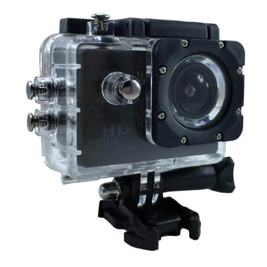 L&K  Sport Action Camera กล้องกันน้ำ 2.0 HD DV 1080p Sports Camera No Wifi