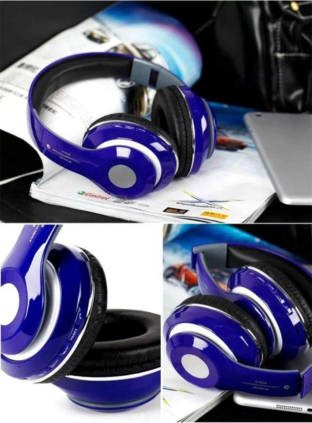 หูฟังบลูทูธแบบครอบหู เสียงสเตอริโอ ระดับhdรุ่นstn-13 Stereo Bluetooth Headphone Stn-13.