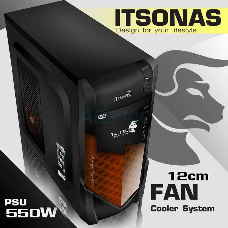 Atx Case Itsonas Taurus Ko (black-Orange) By Mtc Shop.