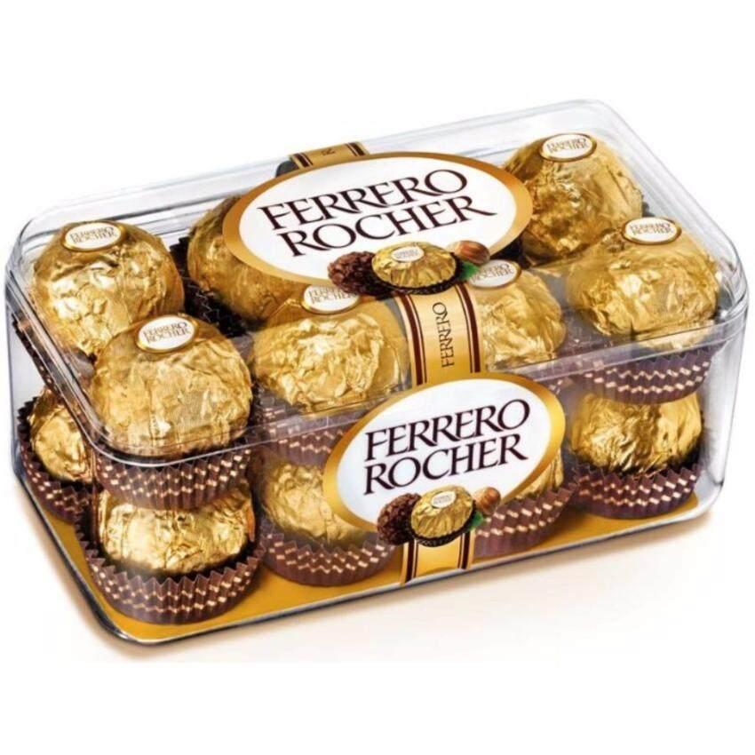 ล็อตผลิตใหม่ล่าสุด ส่งด่วนทันใจโดย KERRY 1 กล่อง 16 ลูก  ติดใจ๊ ติดใจหยุดไม่ได้ Ferrero Rocher เฟอร์เรโรรอชเชอร์ช็อกโกแลต(อร่อยสุดๆไม่เหมือนใคร)
