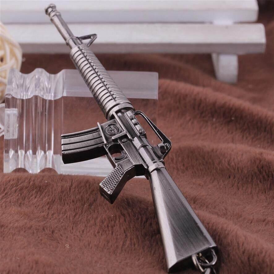 พวงกุญแจของเล่นปืน M16.