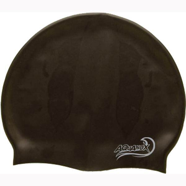AQUANOX หมวกว่ายน้ำ BASIC ซิลิโคน (ออกใบกำกับภาษีได้)