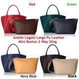 พัทลุง Anello Legato Largo Pu Leather Mini Boston 2 Way Sling