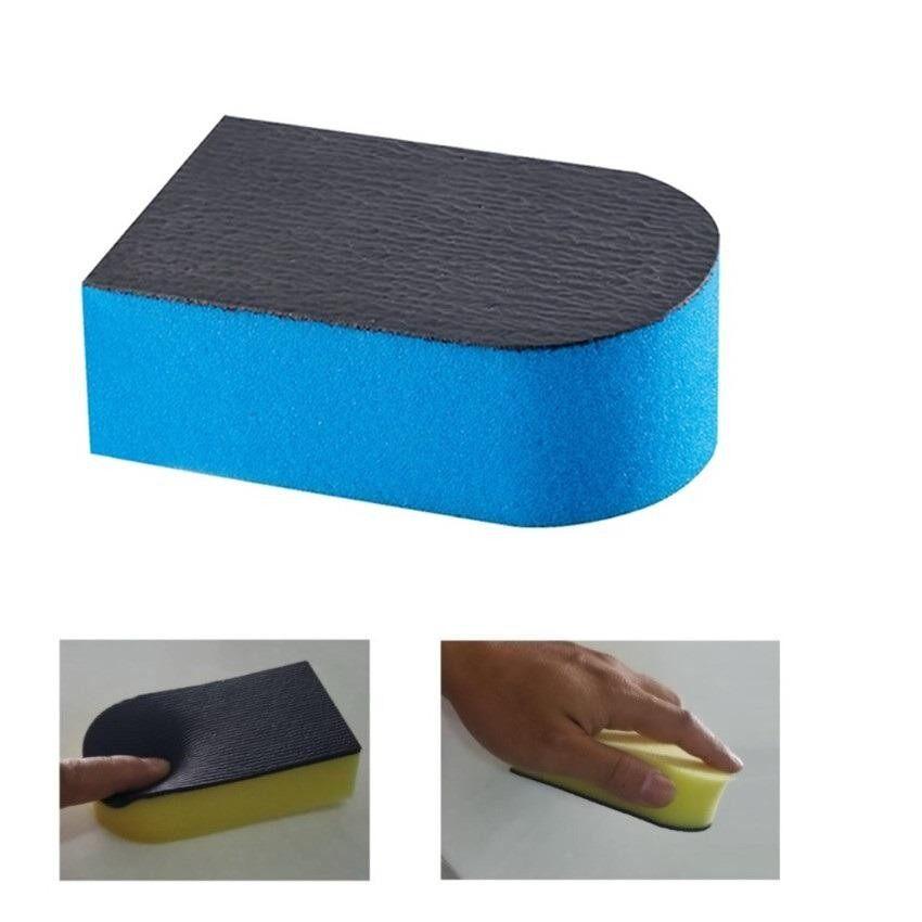 ราคา ฟองน้ำดินน้ำมันขัดสีรถมหัศจรรย์ สีฟ้า Magic Clay Sponge 11 5 6 5 3 5Cm ฟองน้ำนิ่มสำหรับส่วนโค้งได้ดี จับถนัดมือ ไม่ทิ้งคราบ เป็นต้นฉบับ