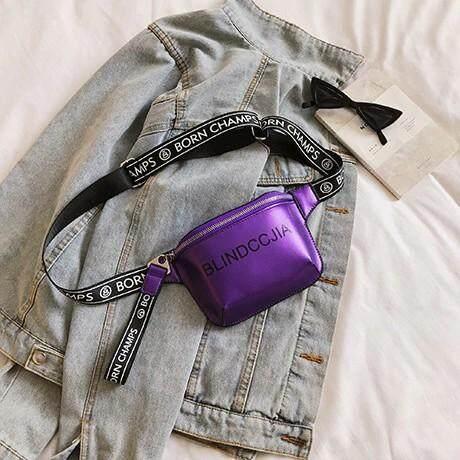 กระเป๋าเป้สะพายหลัง นักเรียน ผู้หญิง วัยรุ่น อุทัยธานี Bag Design กระเป๋าคาดอก คาดเอว รุ่น 076  ตัวใหม่