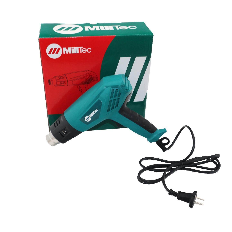 ซื้อ เครื่องเป่าลมร้อน อุณหภูมิ 550 องศา ใช้เป่าฟิล์มรถยนต์ ฟิล์มโทรศัพท์ ฟิล์มหดได้ ยี่ห้อ Milltec สีฟ้า ใหม่