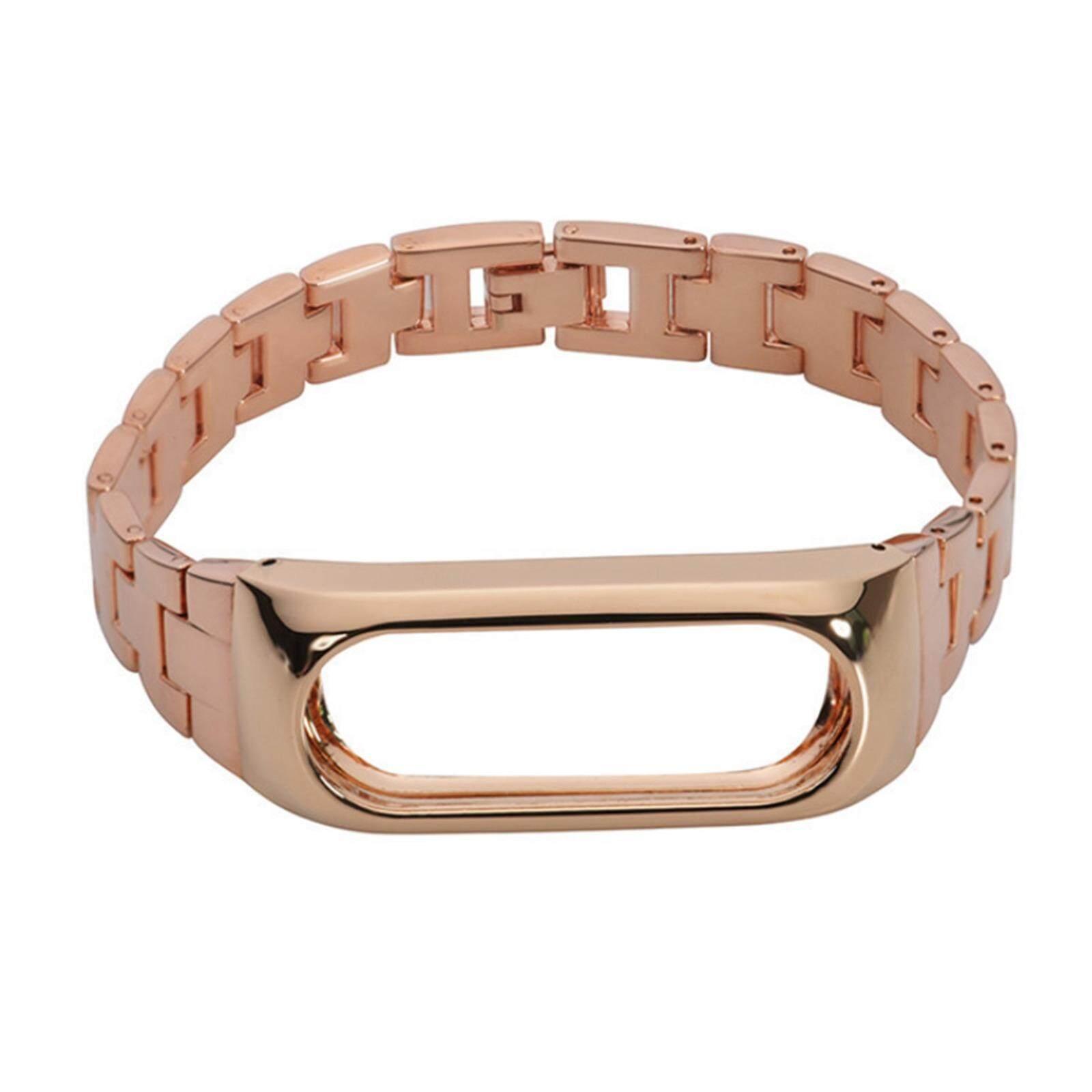 ราคา Wrist Wristband Strap For Mi Band 2 Miband 2 Stainless Steel Strap ถูก