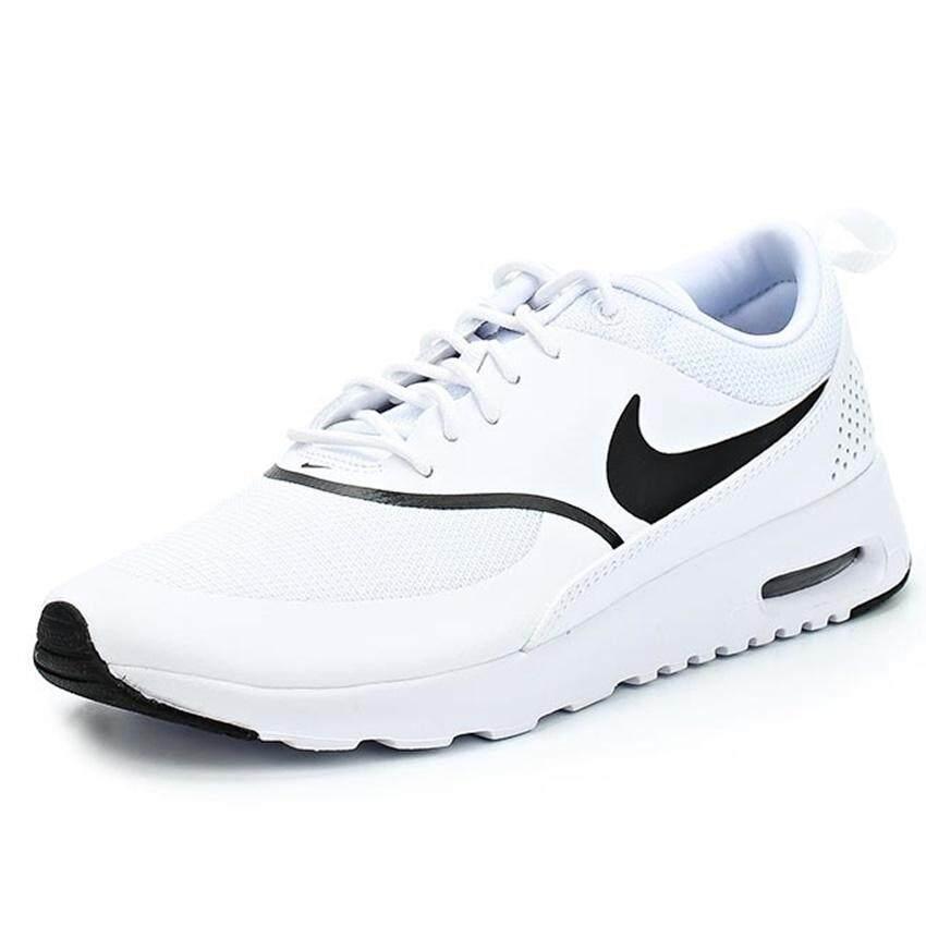 Nike รองเท้าแฟชั่นผู้หญิง Nike Air Max Thea 599409-108 (White Black) b19ef5d04