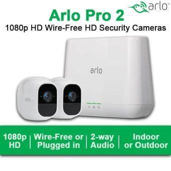 การส่งเสริม Arlo Pro 2 Home Security Camera System (2 pack