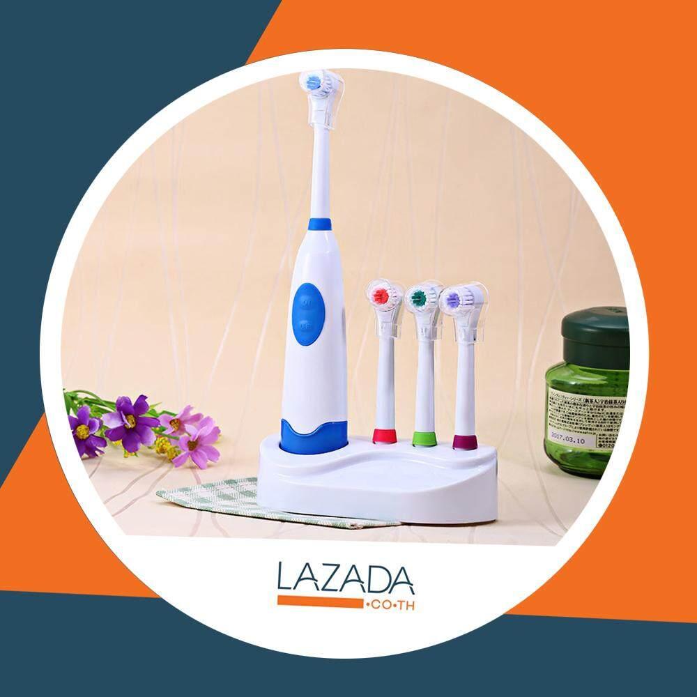 กระเป๋าถือ นักเรียน ผู้หญิง วัยรุ่น ภูเก็ต แปรงสีฟันไฟฟ้า Electric Toothbrushes ชนิดหมุน แถมหัวแปรง 2 แบบ และ ถ่าน AA 2 ก้อน