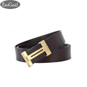 ถูกที่สุดในวันนี้ EsoGoal สำหรับผู้ชายแบบ Esogoal H เข็มขัดหนังพร้อมหัวเข็มขัดแบบถอดได้ Business Casual Leather Belt (120 เซนติเมตร) ราคาดีที่สุด - มีเพียง ...