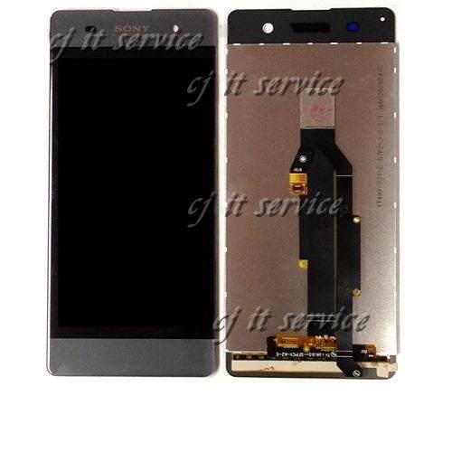 หน้าจอยกชุด LCD+ทัสกรีน Sony Xperia XA - เทาดำ