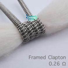 ลวดเอเลี่ยน Super Violence แท้ 100% Prebuilt Demon Killer Wire ขั้นเหนือกว่าของสุนทรียภาพ / ลวด Alien coil / ลวด Clapton coil
