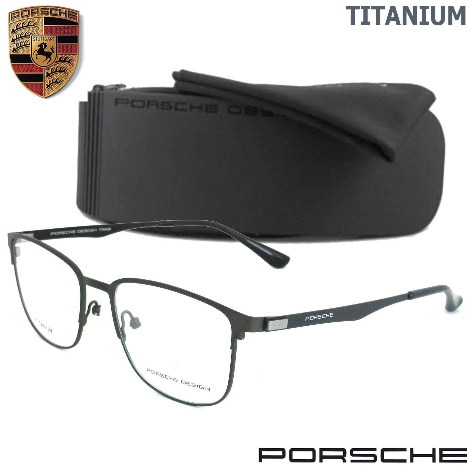 ซื้อ Porsche Design แว่นตา รุ่น P 9840 ทรงสปอร์ต วัสดุ Titanium ไทเทเนียม ขาข้อต่อ กรอบแว่นตา ใหม่