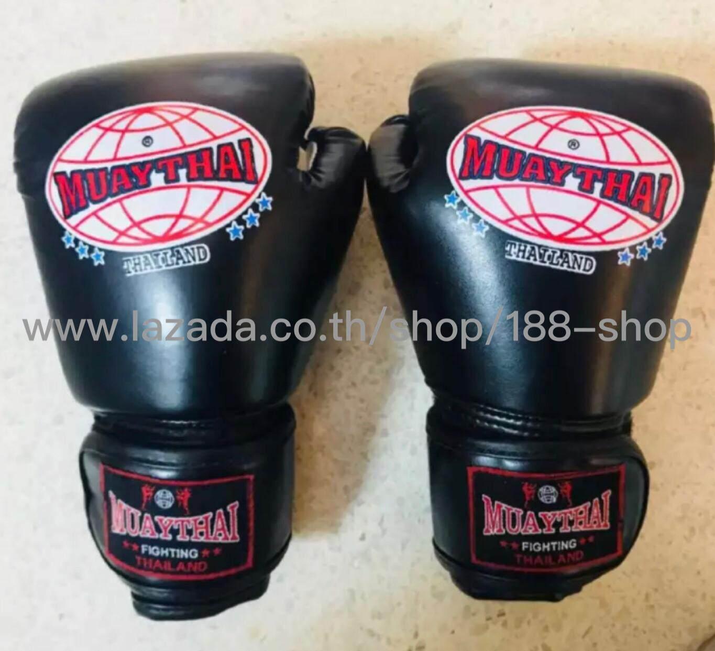 ถุงมือใส่แบบไทย【muaythai】thaiboxing Gloves By 188 Shop.