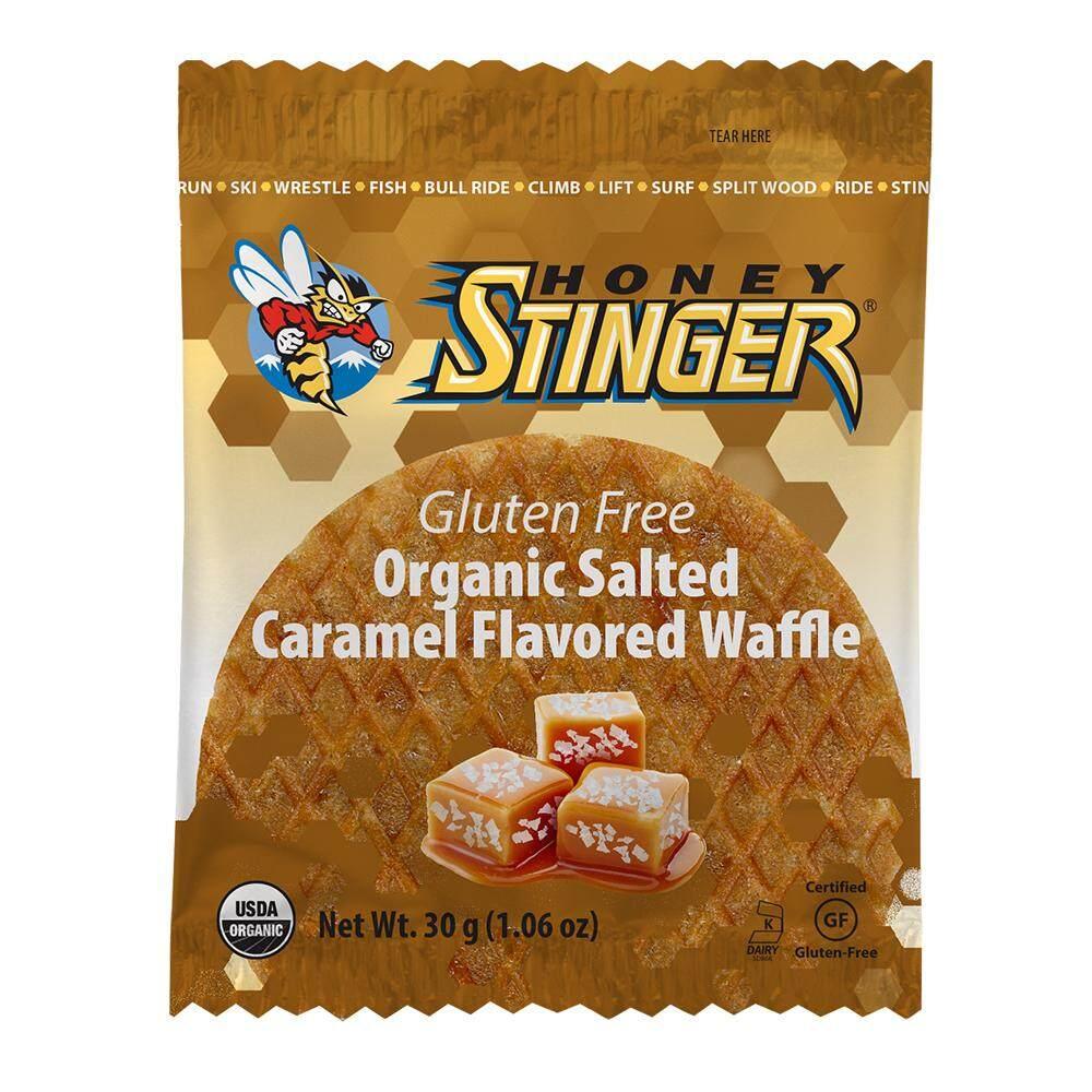 Honey Stinger Organic Waffle วาฟเฟิล สำหรับนักกีฬา รสซอลคาราเมล.