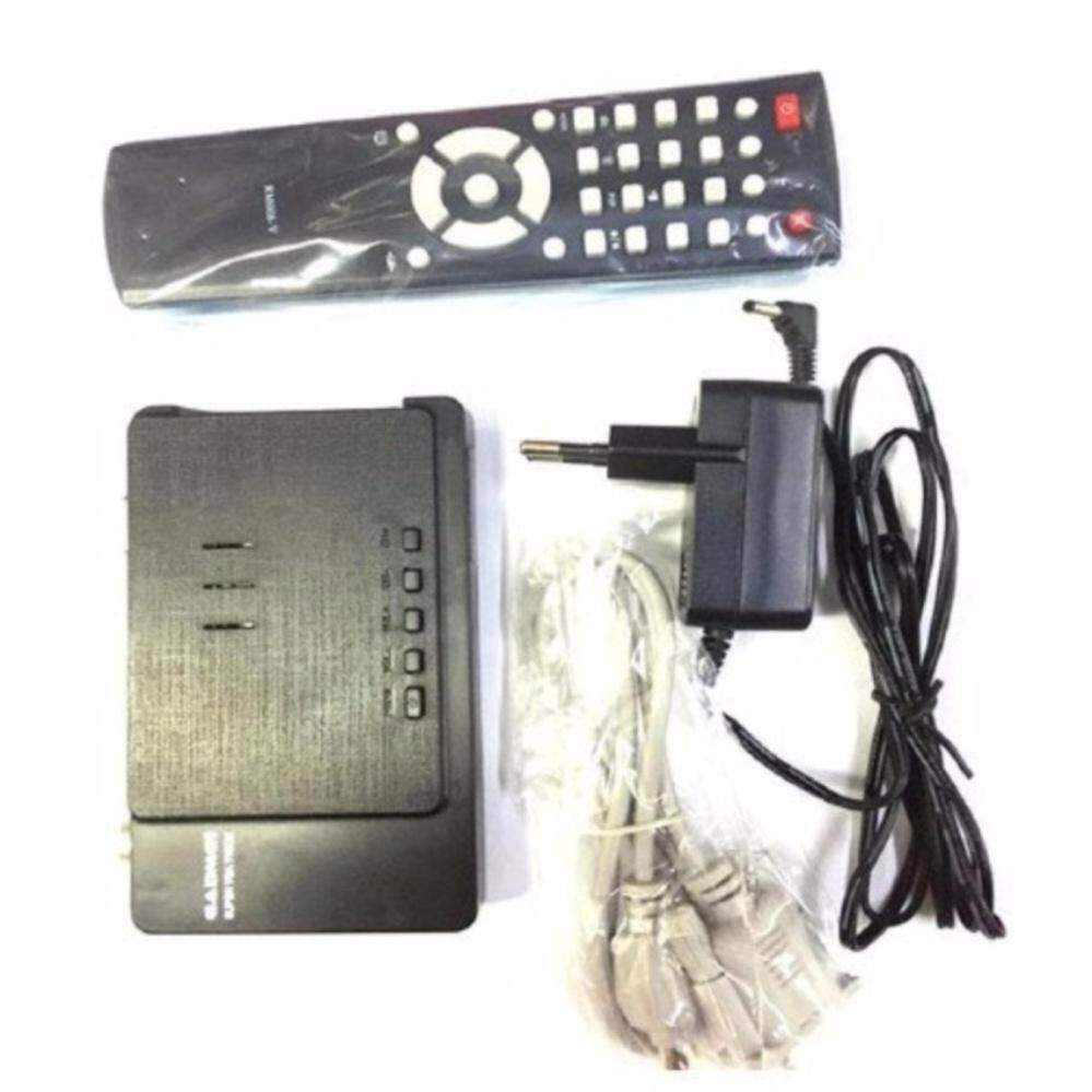 Gadmei Tv Box Lcd/crt Tv Tuner ต่อกับจอดูทีวี (black) .