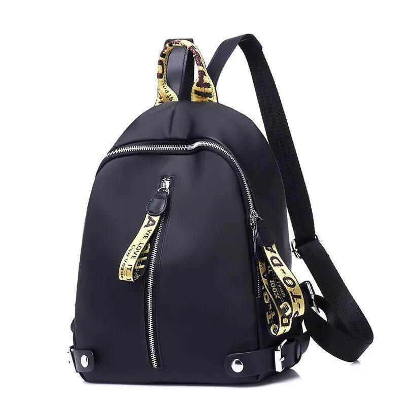 กระเป๋าเป้ นักเรียน ผู้หญิง วัยรุ่น ระนอง TB กระเป๋าแฟชั่นผู้หญิงเกาหลี สีดำ