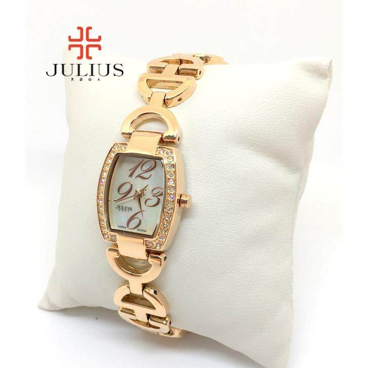 ความคิดเห็น Julius Watch นาฬิกาข้อมือผู้หญิง รุ่น Ja 608 สีโรสโกลด์ Rosegold Sp Watch