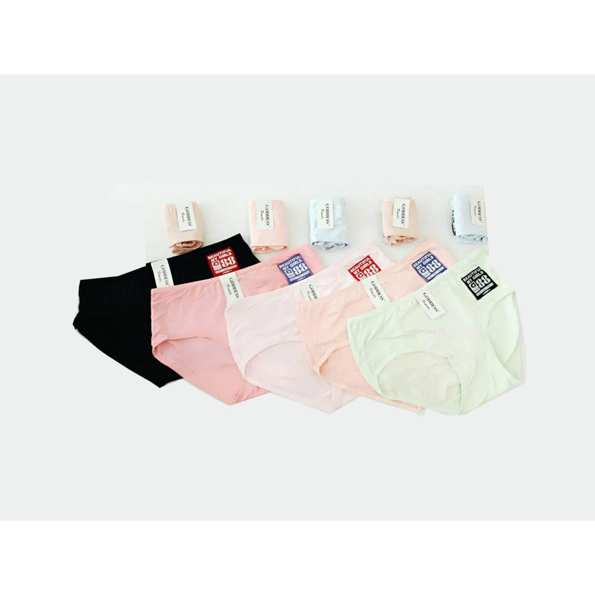 ราคา C L กางเกงขาสั้นสุภาพสตรี 1653 สีเนื้อ เขียว ฟ้า ชมพู โอรส ดำ 10 ตัว เป็นต้นฉบับ