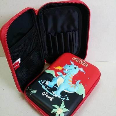 เก็บเงินปลายทางได้ ส่งฟรี kerry!!! ขาย กล่องดินสอสมิกเกิ้ล EVA กระเป๋าดินสอ กล่องดินสอ smiggle hardtop pencil case 3d 3ดี ไดโนเสาร์ Dinosour แดง