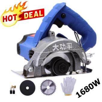การตรวจสอบของ Hot item Cutting Marble Machine ชุดเครื่องตัดหินอ่อนอเนกประสงค์คุณภาพสูง 1680W Blue Series ซื้อ - มีเพียง ฿1,177.80