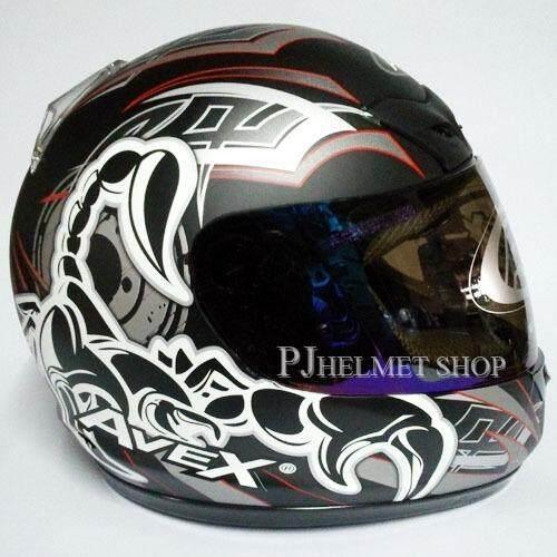 ซื้อ Avex หมวกกันน็อคหุ้มคาง รุ่น Dx 1000 สีดำด้าน หน้ากากปรอท Avex ออนไลน์