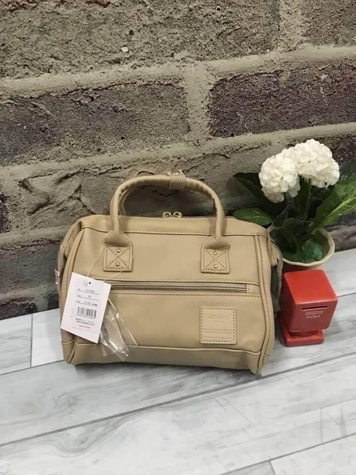 การใช้งาน  สตูล Anello polyester 2 way mini boston bag จากแบรนด์ดังในประเทศญี่ปุ่น (งานแบรนด์แท้)