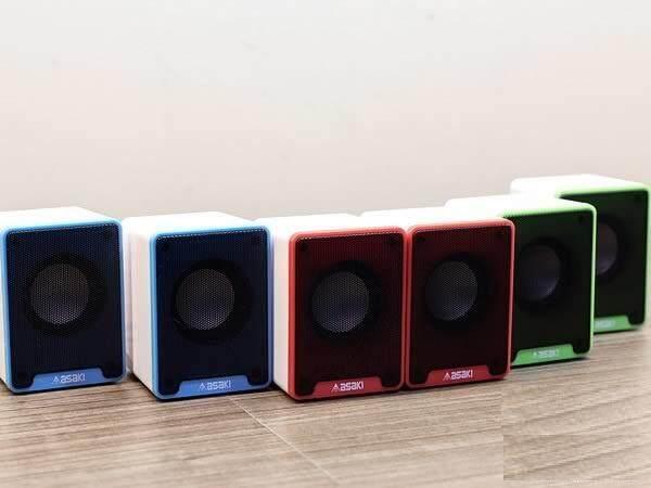 Asaki Asw-585 ลำโพงตั้งโต๊ะ Usb ระบบเสียง Stereo By Miko.