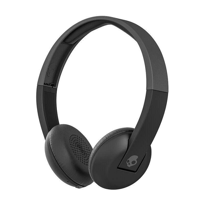 สุดยอดสินค้า!! [Wevery]- SKULLCANDY UPROAR WIRELESS ON-EAR BLACK/GRAY/GRAY หูฟังไร้สาย wireless headphones หูฟัง wireless หูฟังครอบหู หูฟังแบบครอบหู ส่ง Kerry เก็บปลายทางได้