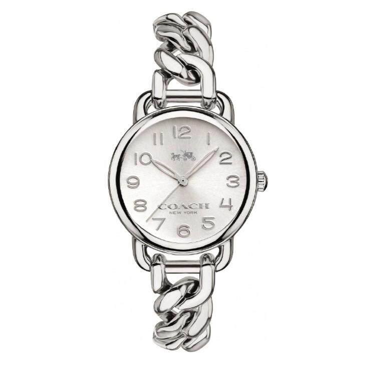 Coach Women's  Pleated Delancey Watch 14502259 - นาฬิกาแบรนด์เนม แท้100%  NA SA-042