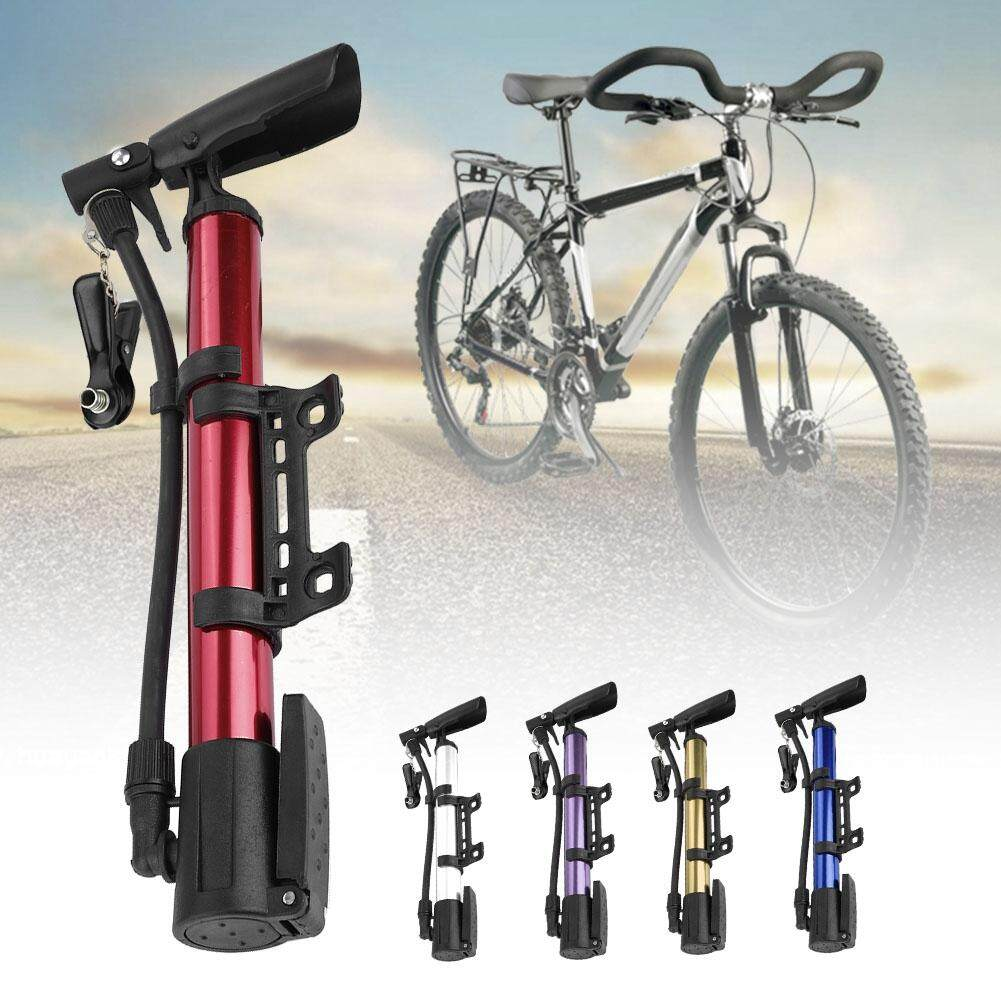 Portable Mini Cycling Bicycle Bike Pump w// Mount Compact Hand Pump Air Inflator