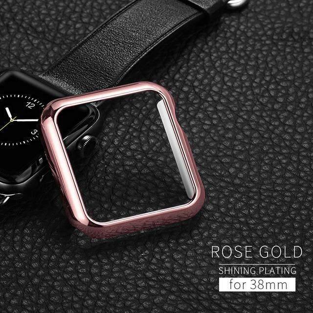 เคส Apple Watch Series 2/3 HOCO สีชมพู Rose Gold  ขนาด 38 mm เคสนาฬิกาแอปเปิ้ลวอช