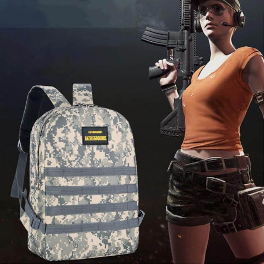 66350aa394 กระเป๋าสะพายหลัง กระเป๋าลายทหาร แบ็คแพ็คในเกม PUBG PLAYERUNKNOWN S  BATTLEGROUNDS Level