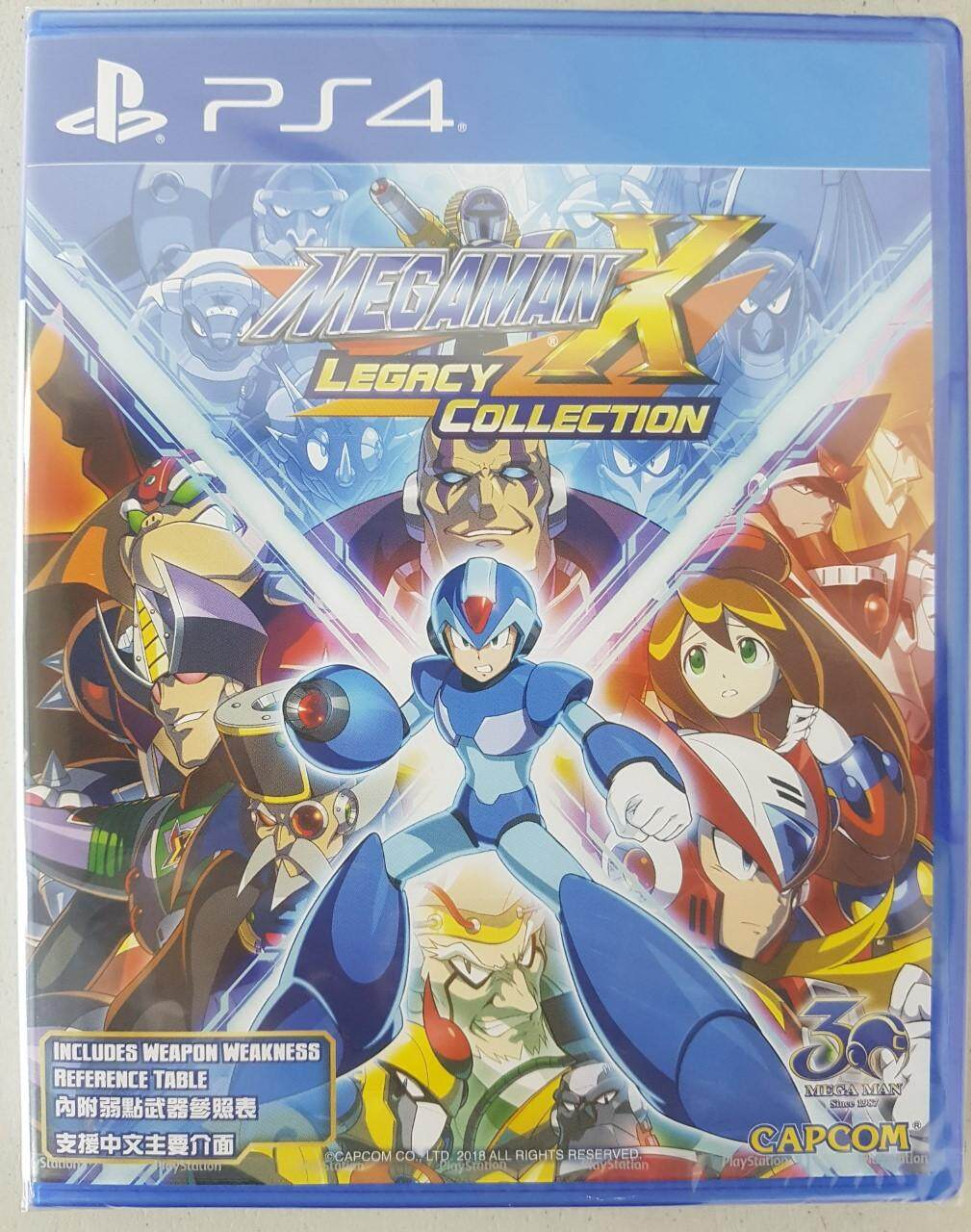 ps4 mega man x legacy collection ( english zone 3 )