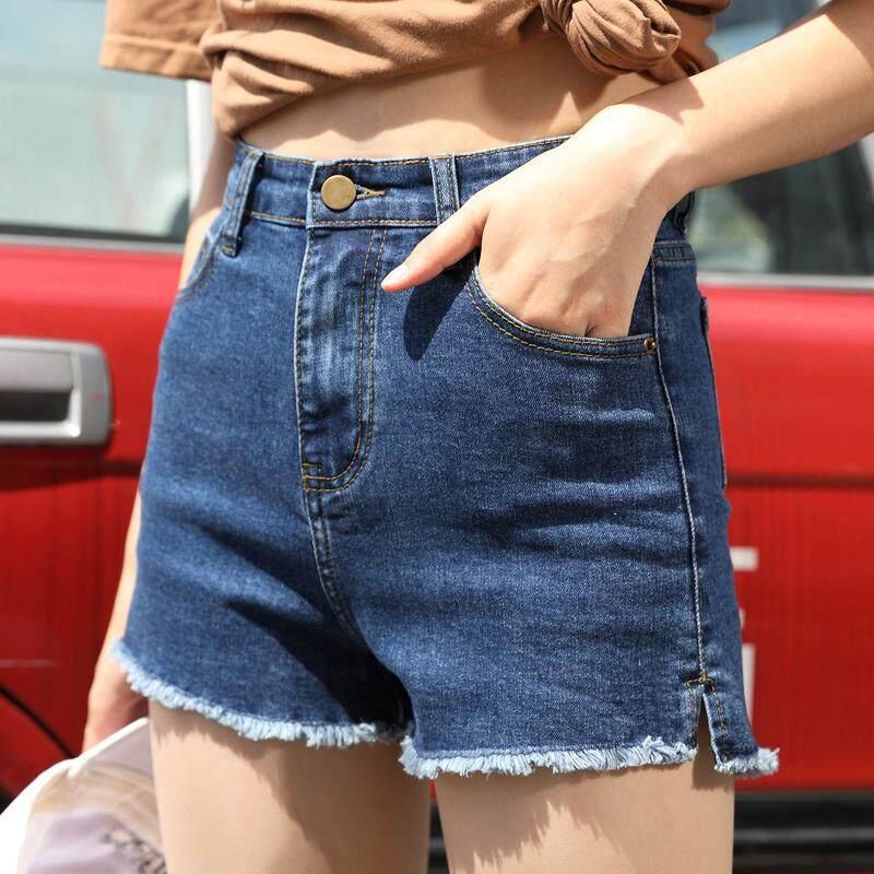 Kk กางเกงยีนส์ ขาสั้นผู้หญิง (สียีนส์เข็ม ) รุ่น 902 By Kk Beauty Shop.