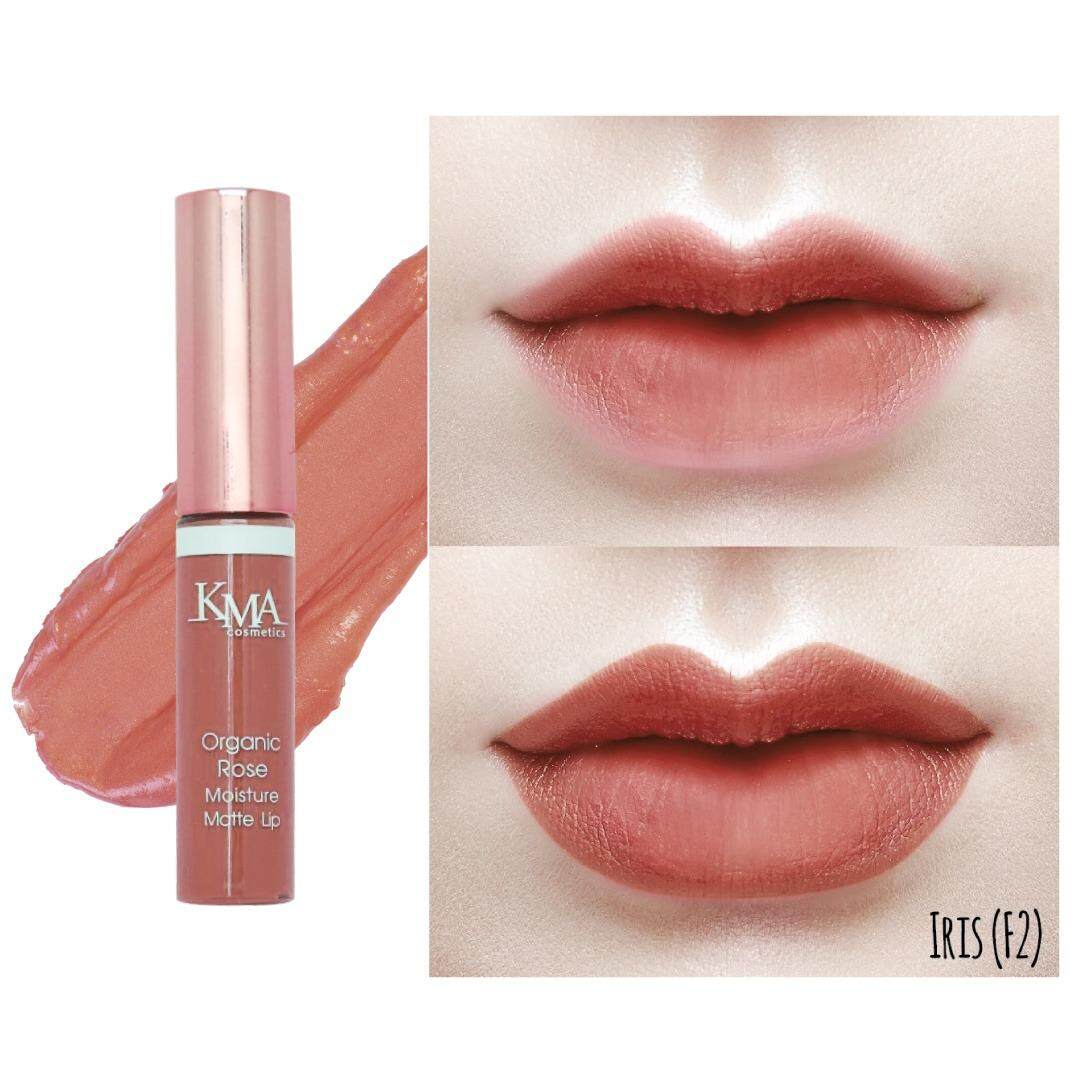 Kma Organic Rose Moisture Matte Lip ลิปลิควิดเนื้อแมทท์ เม็ดสีสวยฉ่ำ สดชัด เนียนแน่นน่าจุ๊บ! By Occ Beauty.