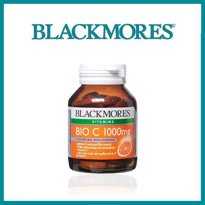 ยี่ห้อไหนดี  ลำพูน Blackmore Bio-C 1000mg แบล็คมอร์ส วิตามินไบโอซี (62 เม็ด)