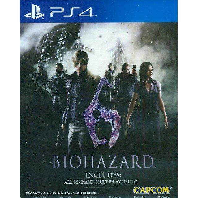 PS4 RESIDENT EVIL 6 (CHINESE SUBS) (ASIA)