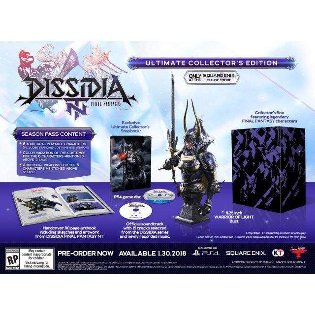 PS4 DISSIDIA: FINAL FANTASY NT [ULTIMATE COLLECTOR'S EDITION] (US)