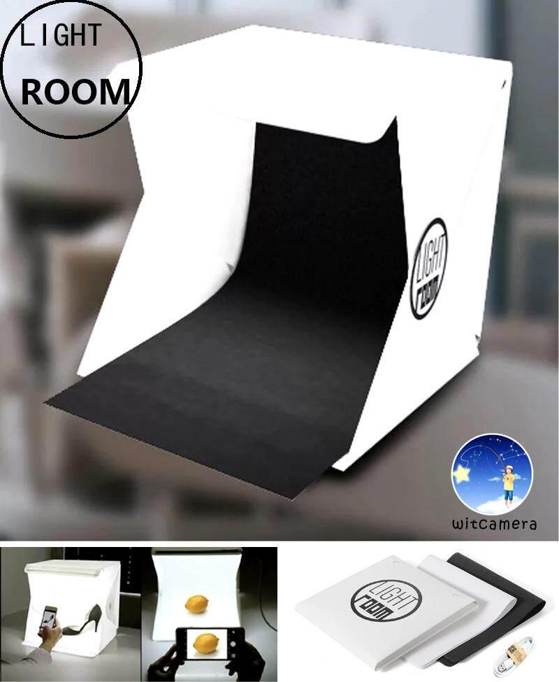 สตูดิโอถ่ายภาพ กล่องถ่ายภาพ แบบพกพา Light Room Lightroom Photo Studio 9 (24cm.) Photography Lighting Tent Kit Mini Cube Box.