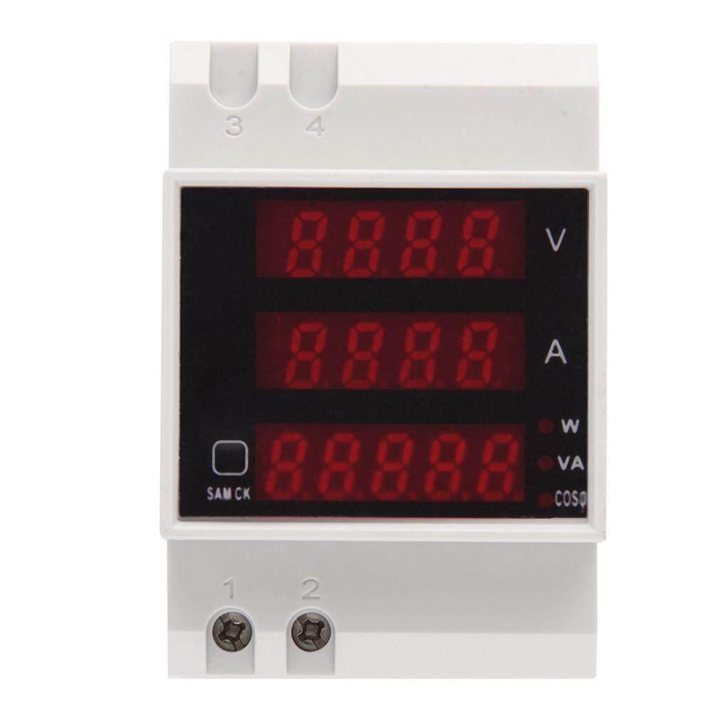 ราคา D52 2048 Ac 80 300V Lcd Digitial Multi Functional Meter Voltmeter D52 2048 Unbranded Generic ใหม่