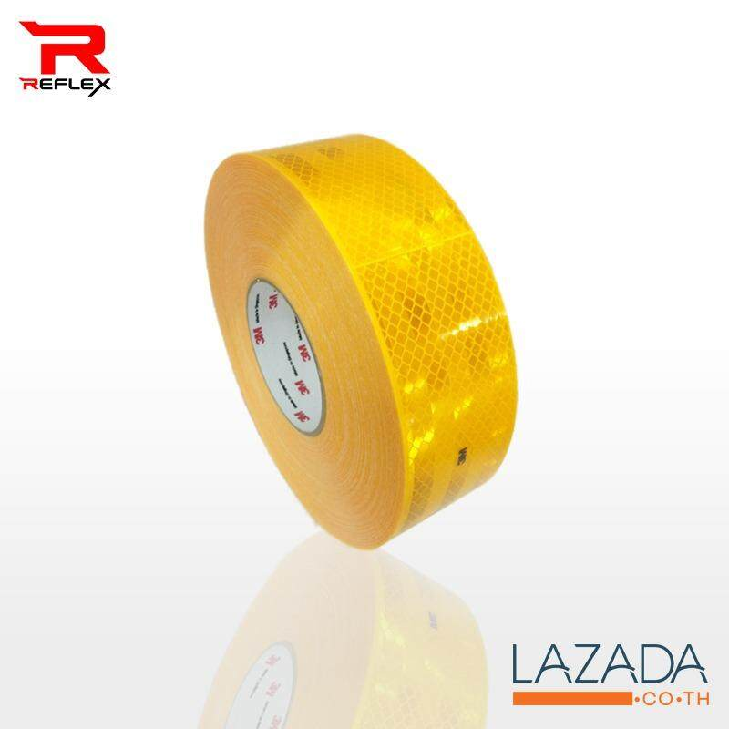 ขาย 3M สติ๊กเกอร์สะท้อนแสง Diamond Grade สีเหลือง 2 50เมตร ออนไลน์ ไทย