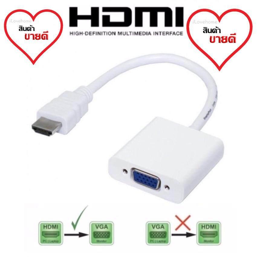 Hdmi To Vga Converter Adapter Hd Cable Hdmi2vga Cable.
