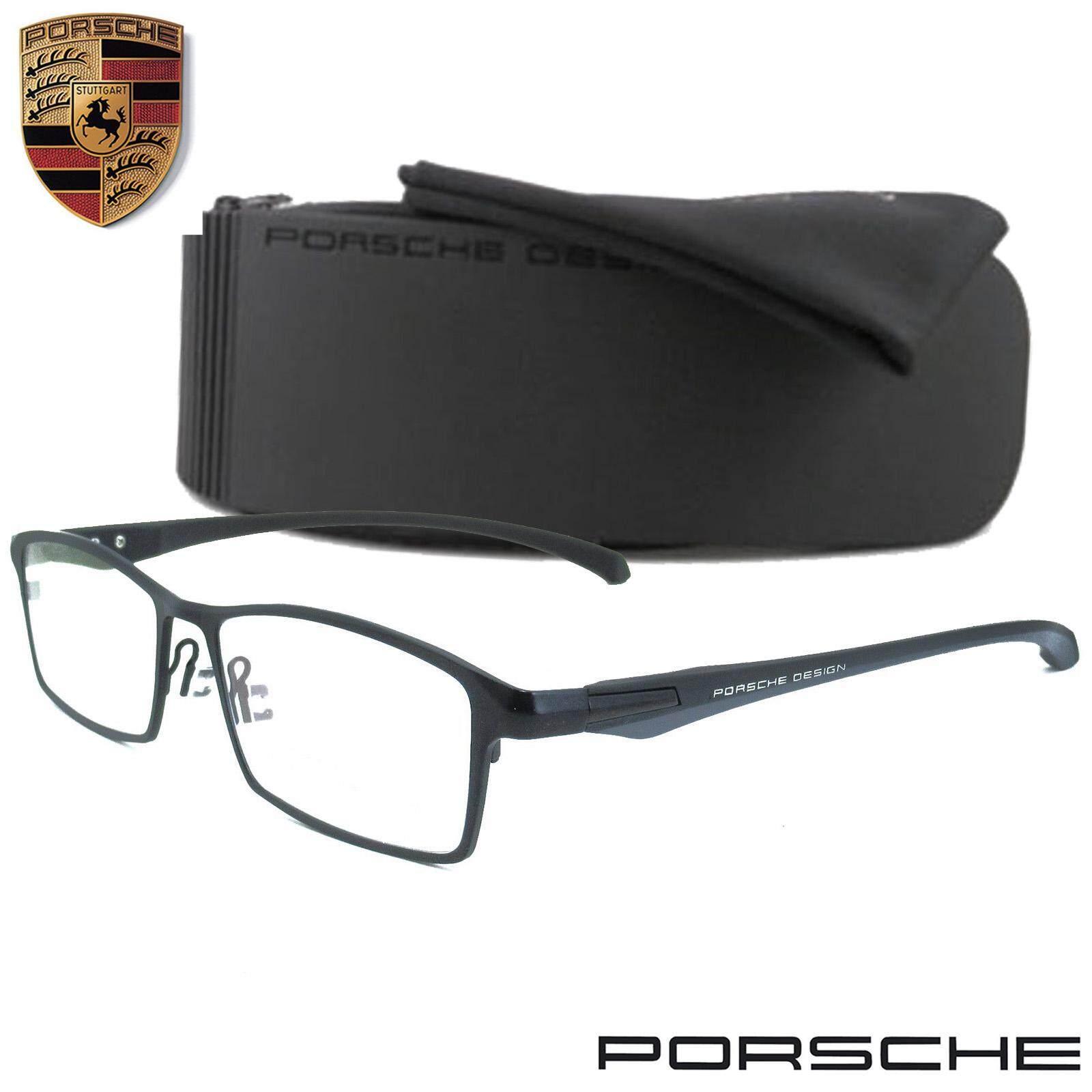 ซื้อ Porsche Design แว่นตา รุ่น P 9064 ทรงสปอร์ต วัสดุ สแตนเลสสตีล หรือเหล็กกล้าไร้สนิม Stainless Steel ขาข้อต่อ กรอบแว่นตา ใหม่
