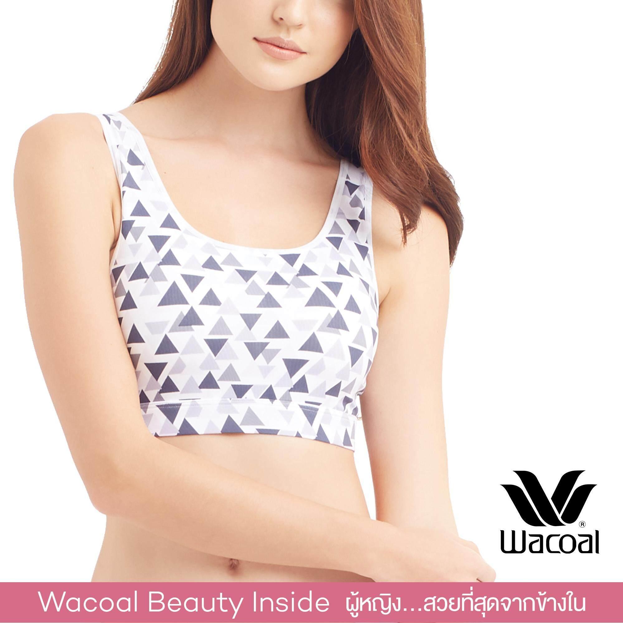 Wacoal Lingerie Casual bra บราสวมหัว - WH9D22
