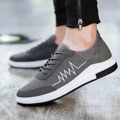 Madine รองเท้าผ้าใบ รองเท้าผ้าใบผู้ชาย น้ำหนักเบา ใส่เดินสบาย No.A032