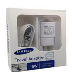 Samsung ชุด หัวชาร์จ พร้อม สายชาร์จ ซัมซุง S7 MicroUSB 2.0 แท้ ยาว 1.2 C Note 4 จำนวนจำกัด c fast charger Wall Charge adapter and Cable MicroUSB original ...