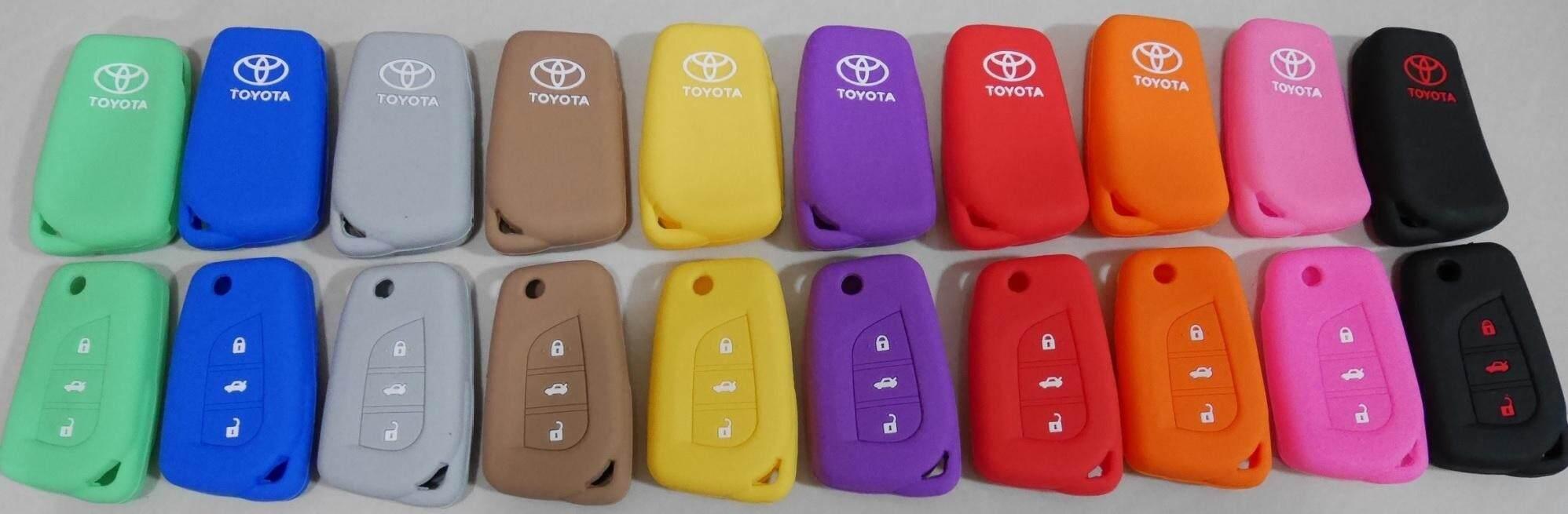 เก็บเงินปลายทางได้ ซิลิโคนแบบหนา  Toyota Revo / Altis  ส่งฟรี Kerry เก็บเงินปลายทางได้ * ทักแชทเพื่อเลือกสีก่อนสั่งซื้อ*