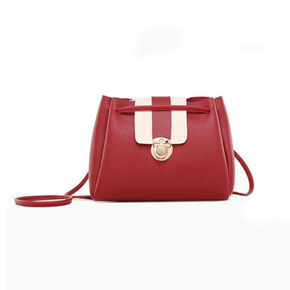 สุดยอดสินค้า!! มี 4 สี ให้เลือก จัดส่งโดย kerry กระเป๋าสะพายข้าง กระเป๋าแฟชั่น No.Pinse-Niukou